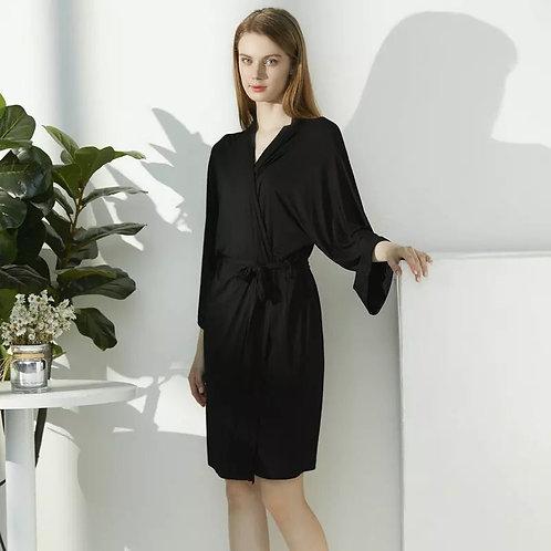 Roselle Kimono Modal Robe