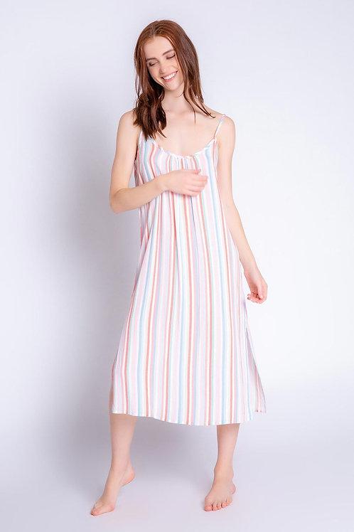PJ Salvage Saturday Morning Stripes Dress