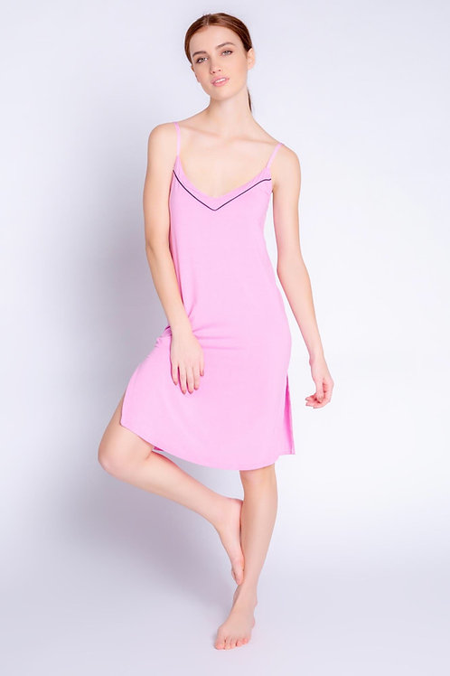PJ Salvage Modal Lilac Rose Gown
