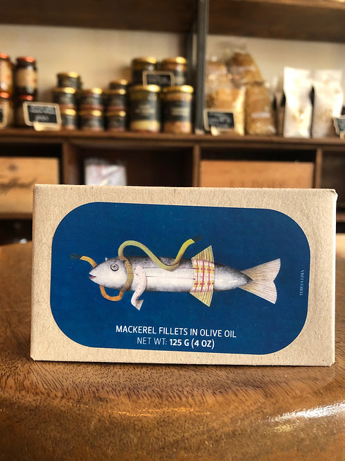 Mackerel Fillets in Olive Oil - 125g