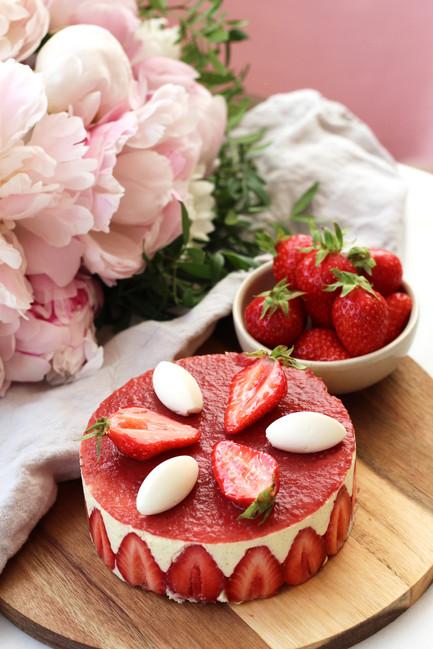 Le soleil est là, les fraises aussi