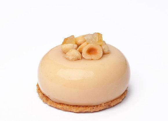 Cheesecake citron noisettes