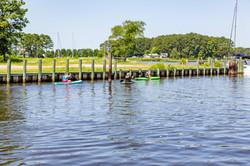 More kayakers