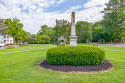 Monument in the town park