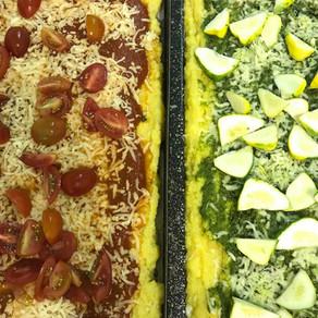 Polenta Pizza - oder die Qual der Wahl