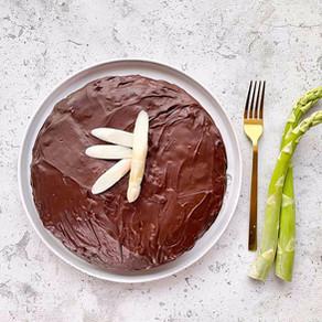 Schoko - Spargel Kuchen