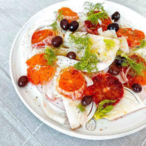 GOOD MOOD und Blutorangen Fenchel Salat