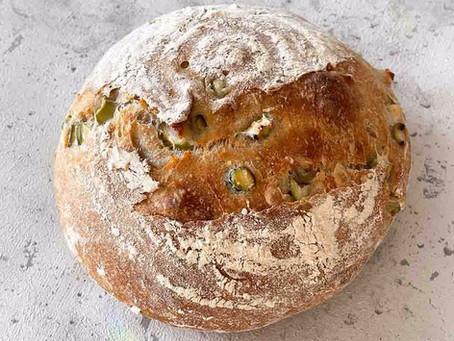 Spargel- Sauerteig Brot