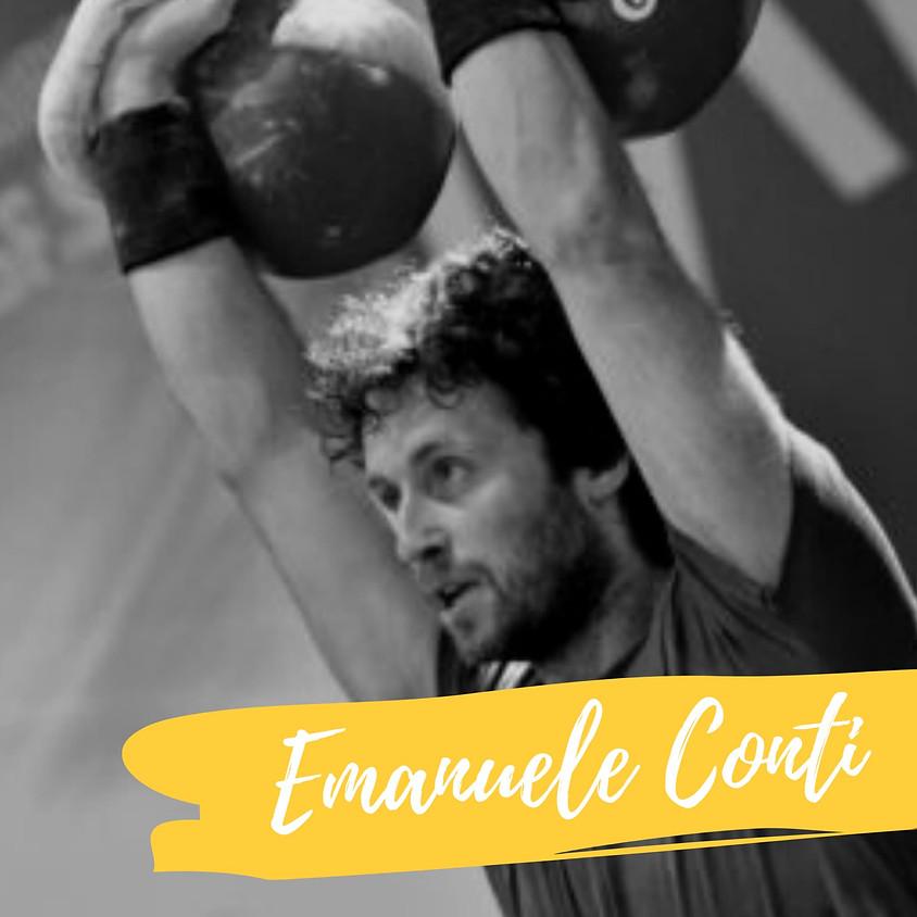 Appuntamento con Emanuele Conti +  Ingresso Fiera