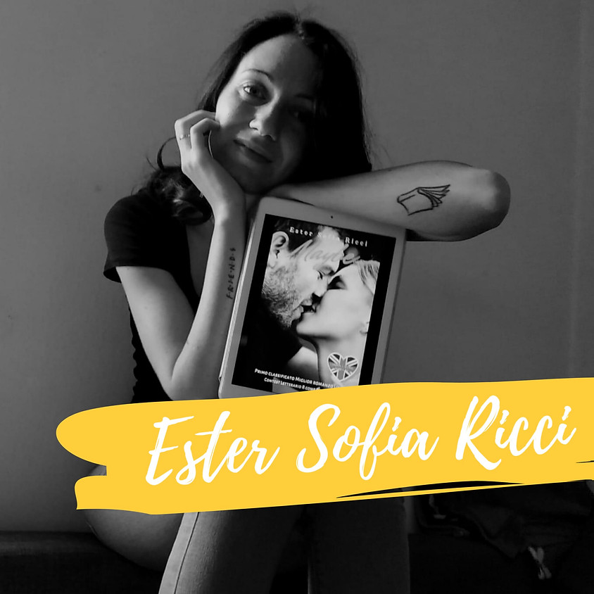 Appuntamento con Ester Sofia Ricci + Ingresso Fiera ore 15