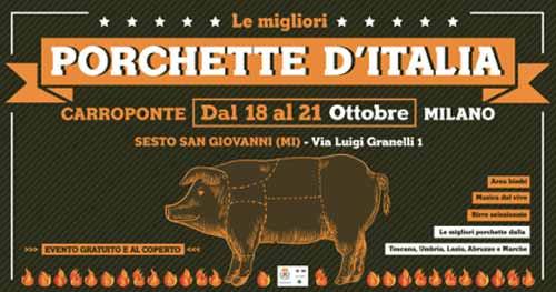 porchette d'italia 2018 Carroponte Sesto San Giovanni