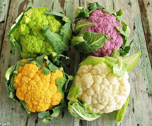 Cavolfiori tricolori pugliese  (Il Melograno Frutta e Verdura)