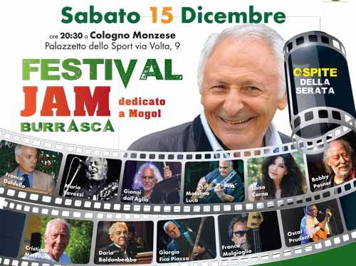 Festival Jam Burrasca Cologno Monzese 2018 Mogol