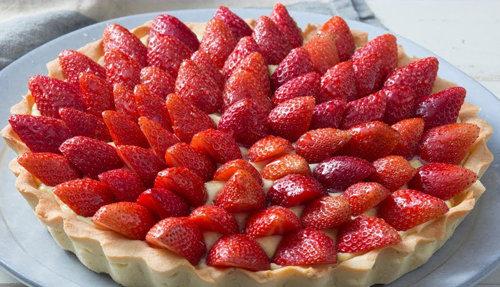 Crostata di fragole e/o frutti di bosco (Pasticceria Domenica)