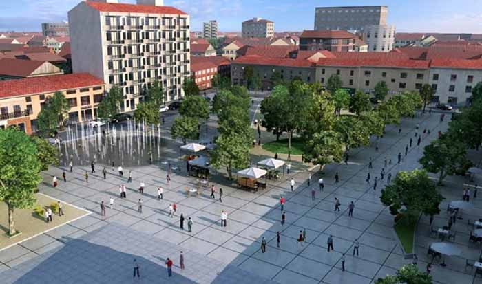 nuova Piazza Gramsci