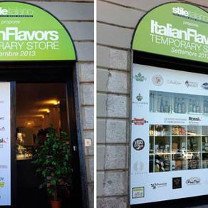 Italian Flavors, un raro temporary