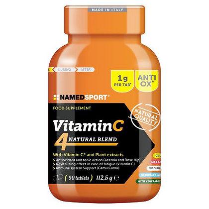 Vitamina C 4Natural Blend 90 Tabs - Named Sport (BioEnergy Mila