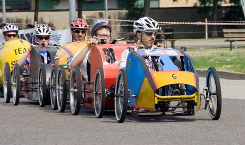 Campionato di F1 a Pedali-Parco-nord-milano-normilanonline
