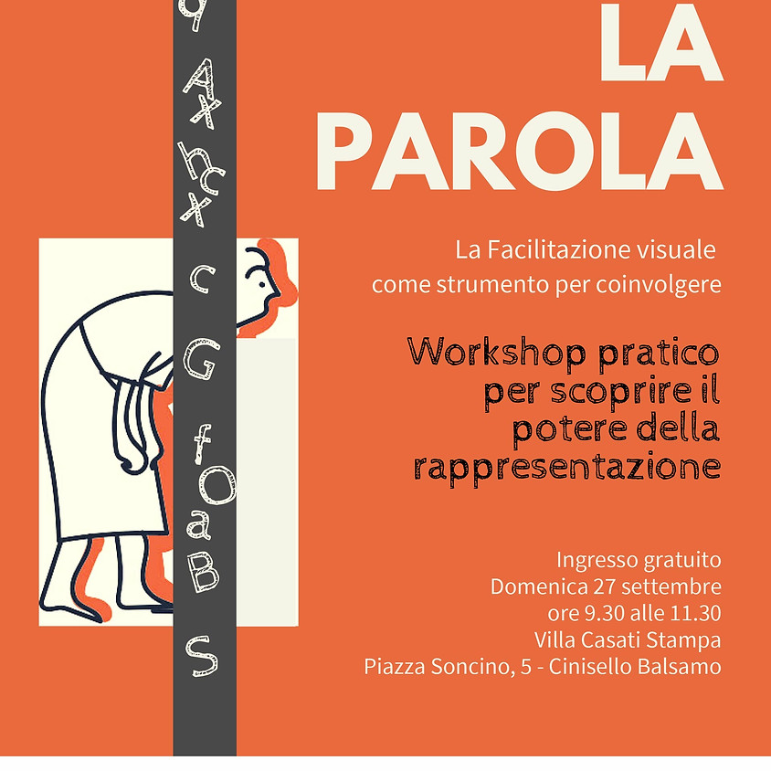 Workshop di Melissa Parrinello + Ingresso Fiera ore 9