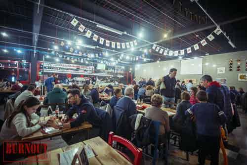 burnout pub di Seveso-cinisellonline