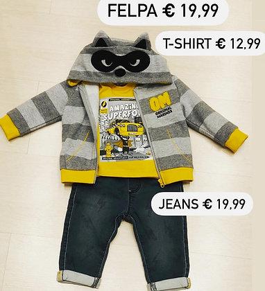 T-shirt, Felpa con cappuccio, Jeans (Original Marines Cinisello)