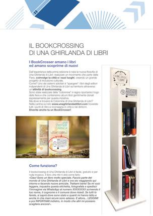 Brochure: pagina dedicata al book crossing