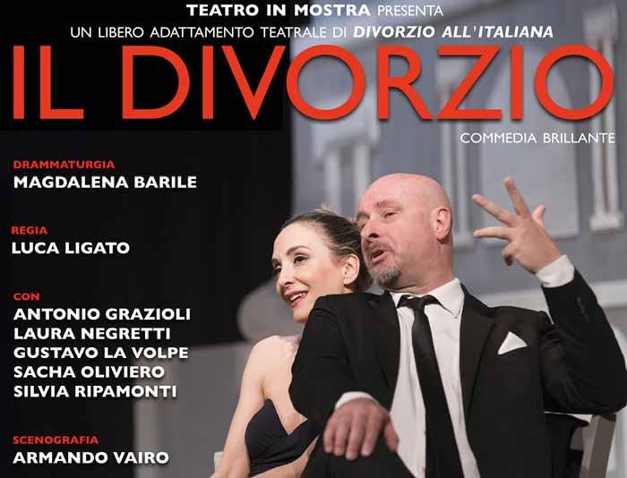 domenica 8 settembre alle 21, il Bosco delle Querce di Seveso ospita lo spettacolo Il divorzio
