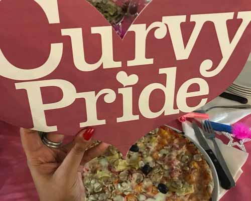 Pizza e curve Associazione Curvy Pride