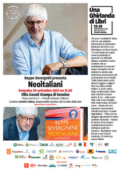 "Beppe Severgnini ""Neoitaliani"""