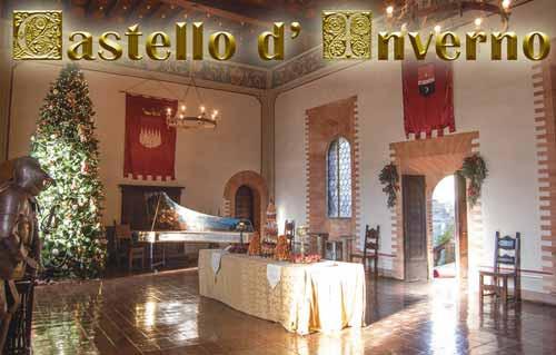 Castello di Gropparello Castello d'inverno e Magia del Natale