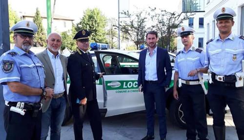 ghilardi e berlino, polizia locale cinisello