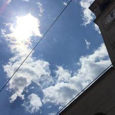 Giornata di sole e nuvole