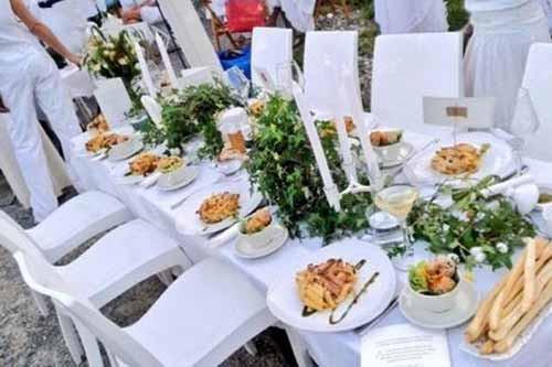 Cena in Bianco a Cinisello Balsamo