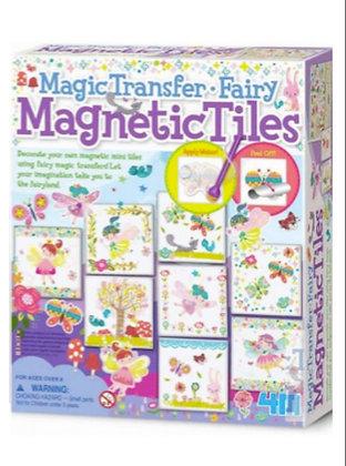 4M Magnetic Tiles - Decora la tua calamita (Gutenberg Edicola)