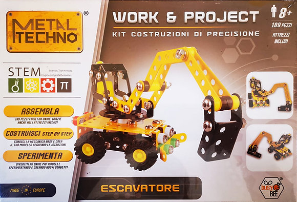 Metal Techno Escavatore (Gutenberg Edicola)