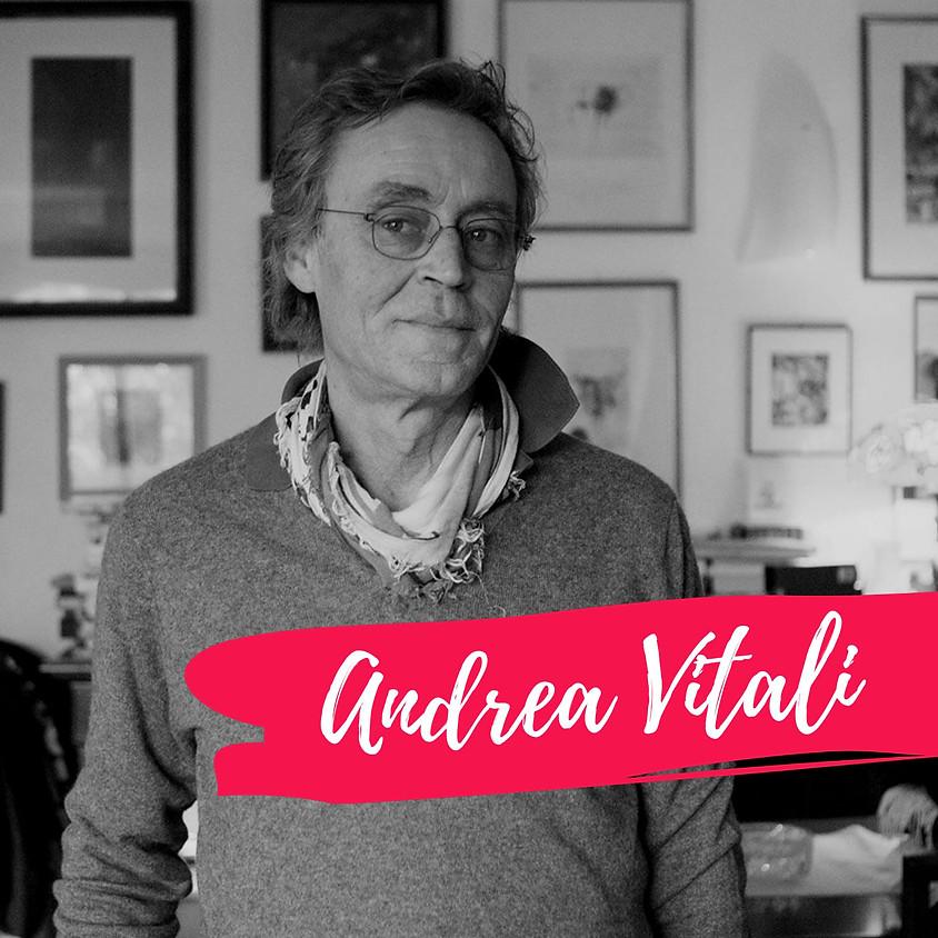 Appuntamento con Andrea Vitali + Ingresso Fiera ore 16