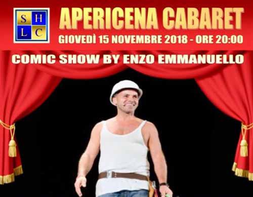 apericena con cabaret Ca' Bianca Milano