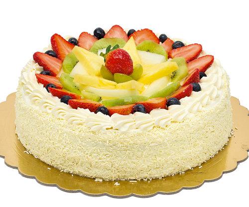 Torte Chantilly con frutta (Pasticceria Domenica)