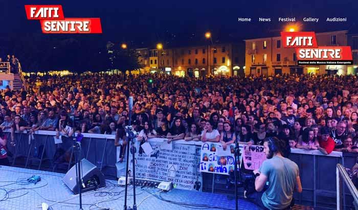 Torna anche quest'anno FattiSentire, il Festival della Musica Emergente Italiana