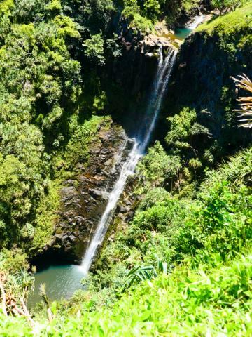 Property sits above 150-ft waterfall