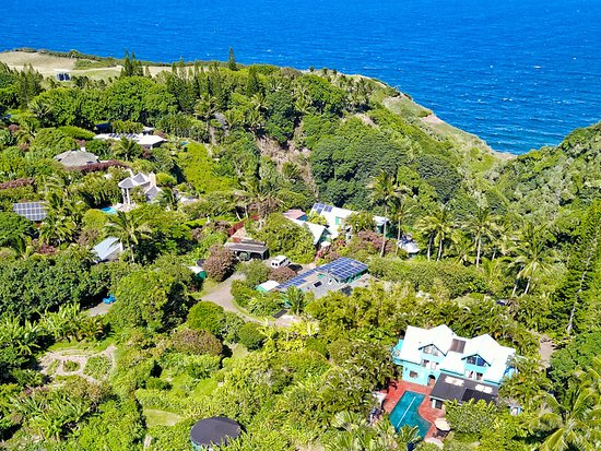 Aerial view of 150-acre Eco Resort