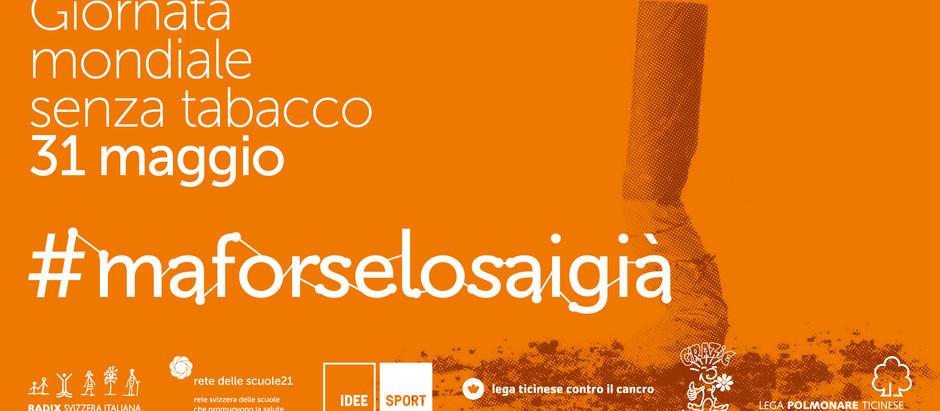 Giornata Mondiale senza tabacco 2021