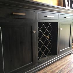 Hampton Server with Wine Rack