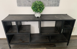 Metal/wood open console
