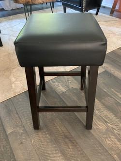 Leather stool 2595