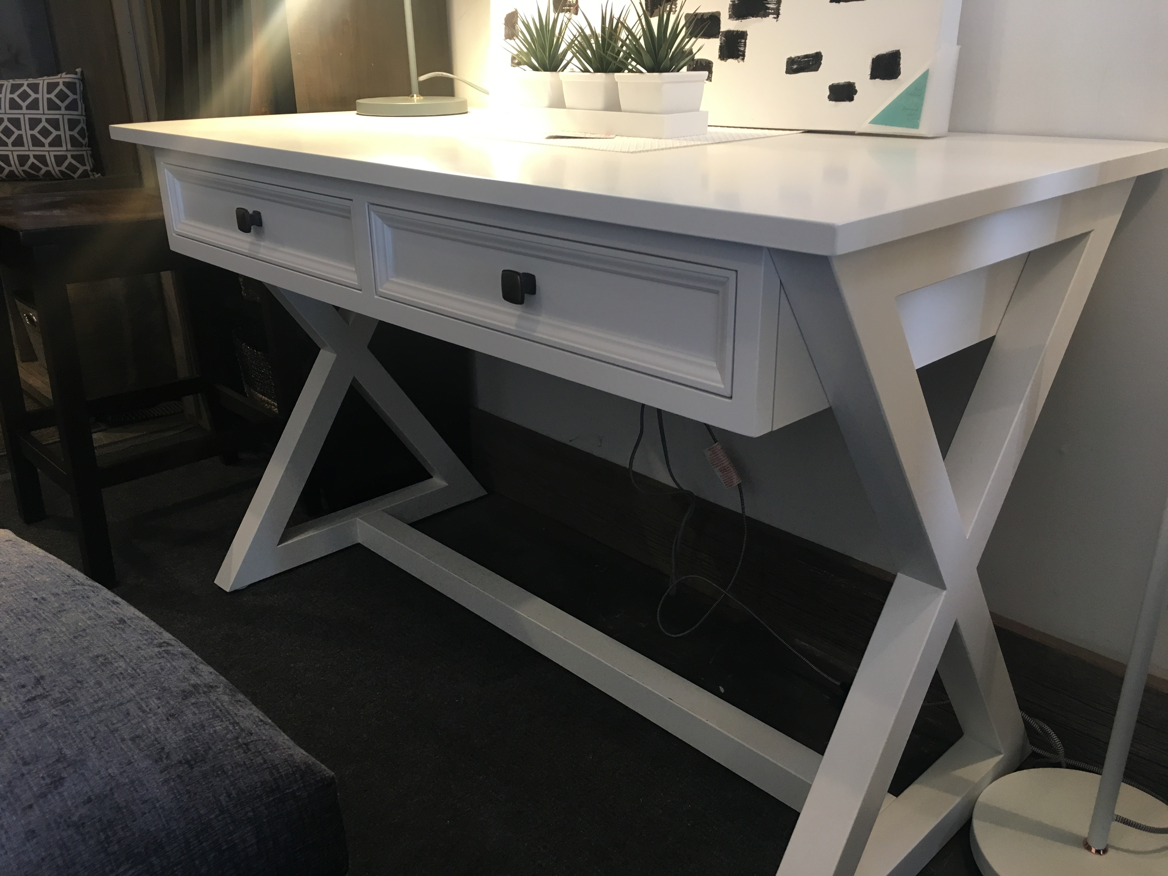 "48"" X base writing desk"