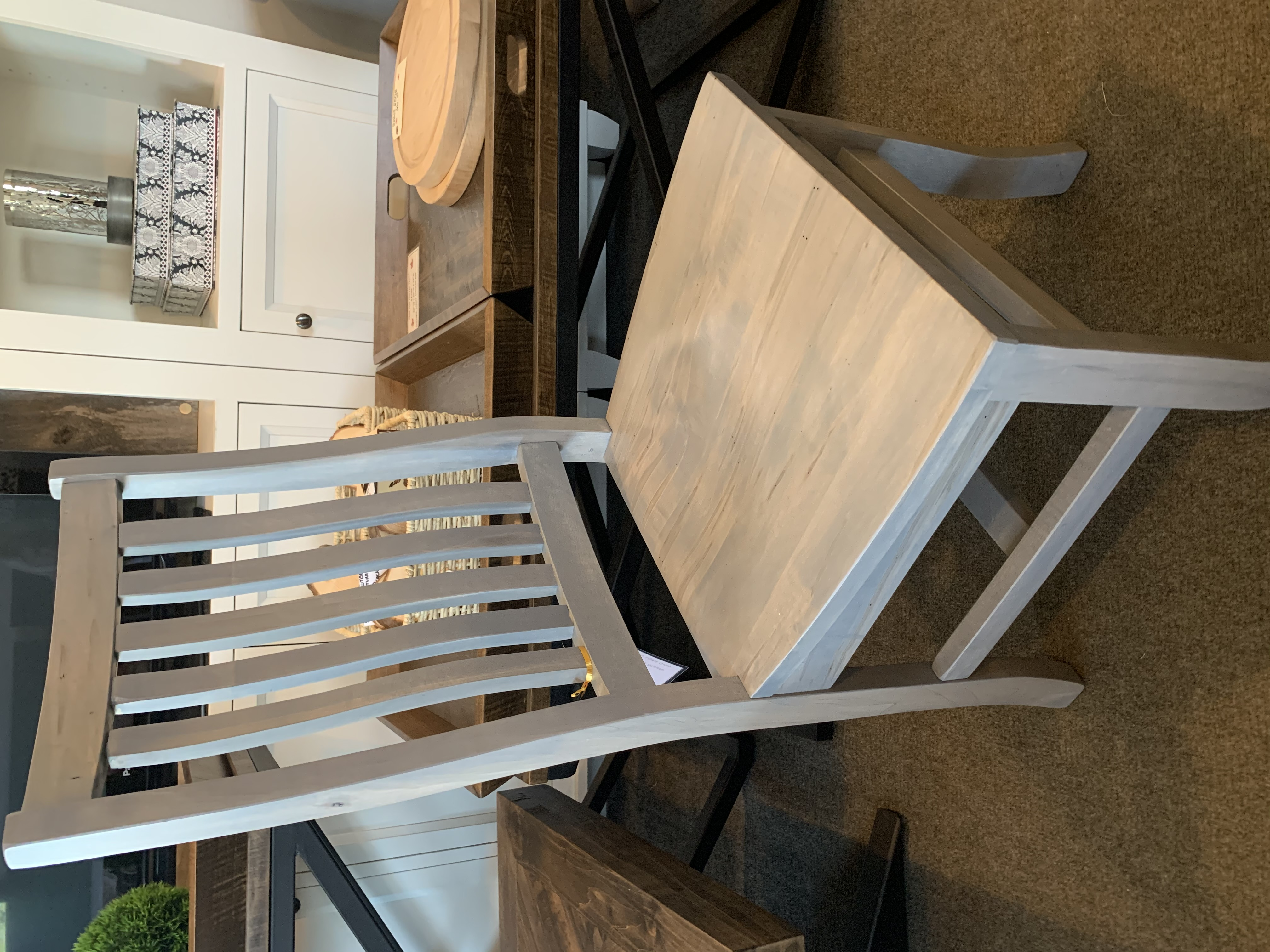 Fancy rustic Mission chair