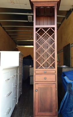 Custom wine rack tall
