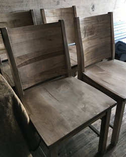 Low Full Back Dining Chairs