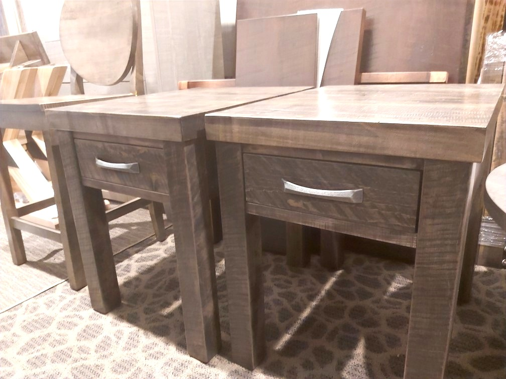 Rustix thick top end tables